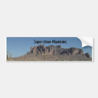 Superstition Mountains Bumper Sticker