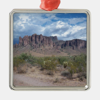 Superstition Mountains Metal Ornament