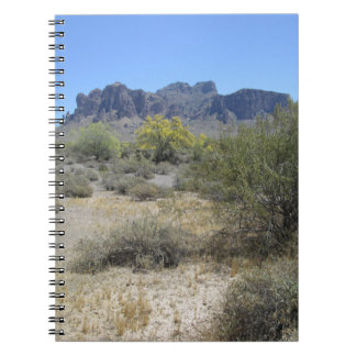 Superstition Mountains Notebook