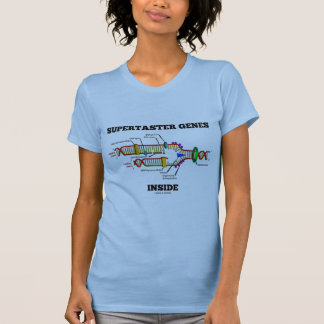 Supertaster Genes Inside (DNA Replication) T-Shirt