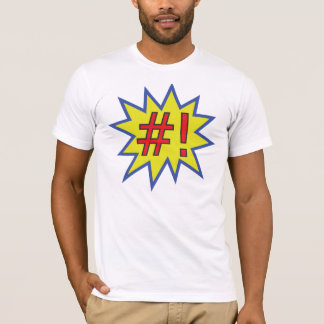 #! Superuser T-Shirt