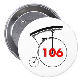 Supervisor 106 7.5 cm round badge
