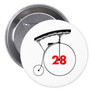 Supervisor 28 7.5 cm round badge