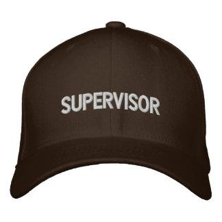 Supervisor Embroidered Cap
