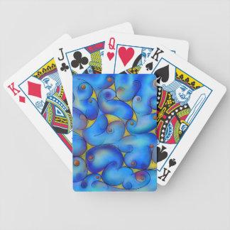 Supliussa - Milky way Bicycle Playing Cards