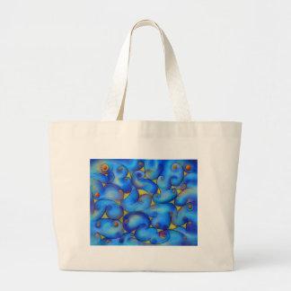 Supliussa - Milky way Large Tote Bag