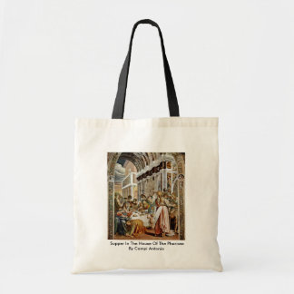Supper In The House Of The Pharisee Canvas Bag