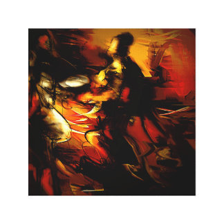 """Supplication"" - Modern Expressionist Fine Art Canvas Print"