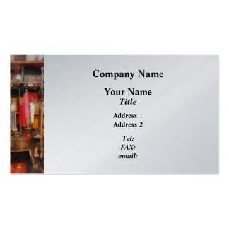 Supplies in Tailor Shop Business Card