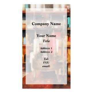 Supplies in Tailor Shop Business Card Templates
