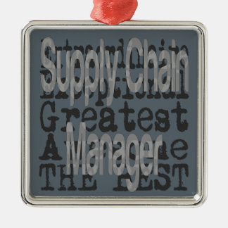 Supply Chain Manager Extraordinaire Metal Ornament