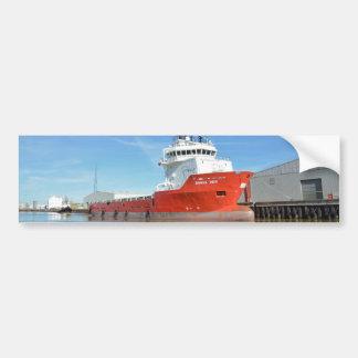 Supply Ship Durga Devi Bumper Sticker