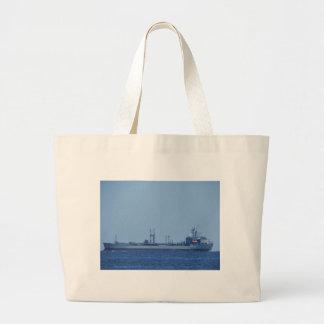 Supply Ship Orangeleaf Tote Bag
