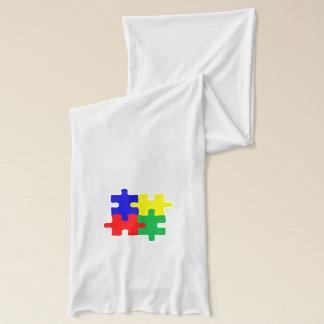 Suppor Autism Scarf