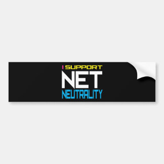 Suppor Net Neutrality Bumper Sticker