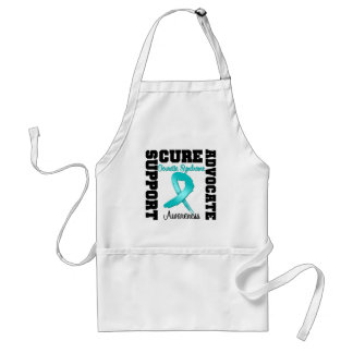 Support Advocate Cure Tourette Syndrome Aprons