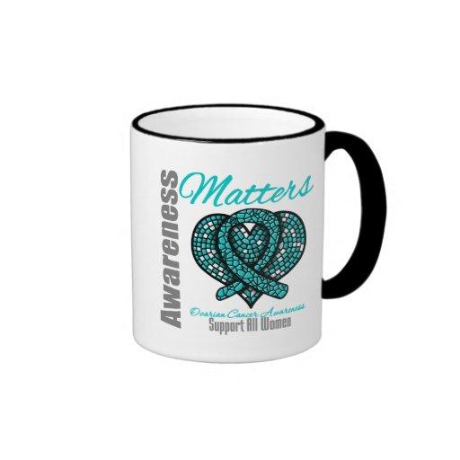 Support All Women - Ovarian Cancer Coffee Mugs