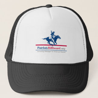 Support American Values With Patriotsbillboard.org Trucker Hat