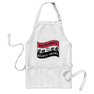 Support Arab people's Revolution Standard Apron