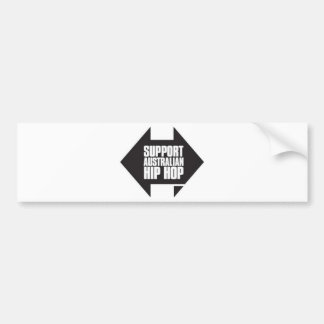 Support Australian Hip Hop Bumper Sticker