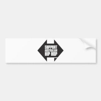 Support Australian Hip Hop Bumper Stickers