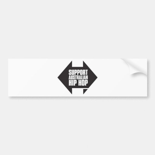 Support Australian Hip Hop Bumper Stickers