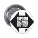 Support Australian Hip Hop Pins