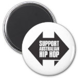 Support Australian Hip Hop Refrigerator Magnets