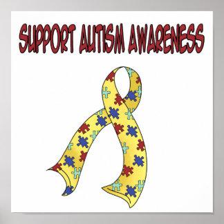 SUPPORT Autism Awareness Print
