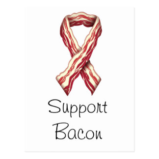 Support Bacon Postcard