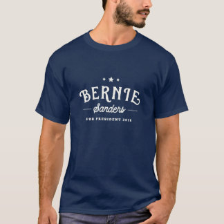 Support Bernie Sanders 2016 | Vintage Logo T-Shirt