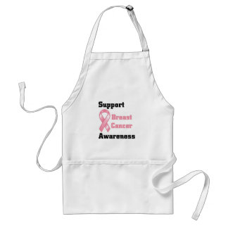 Support Breast Cancer Awareness Standard Apron