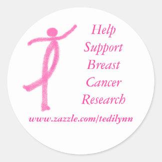 Support Breast Cancer sticker