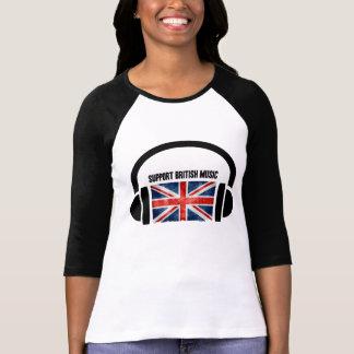 Support British Music T-Shirt