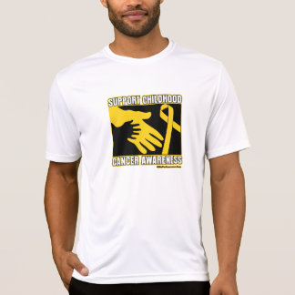 Support Childhood Cancer Awareness Abstract Hands Shirt