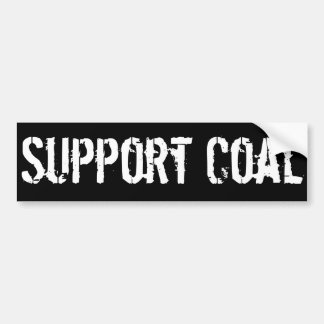 Support Coal Bumper Sticker