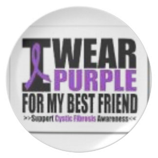Support cystic fibrosis research plate