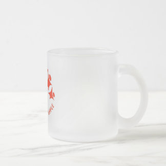 Support Diversity in the Press Frosted Glass Coffee Mug