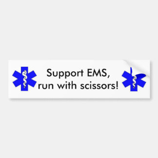 Support EMS Bumper Sticker