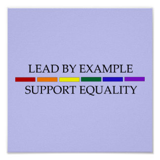 Support Equality Poster