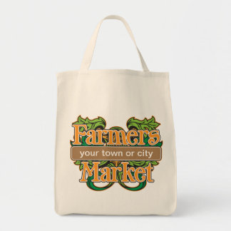 Support Farmers Market Tote Bag