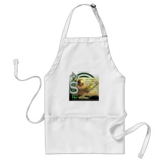 Support Financial Literacy Apron
