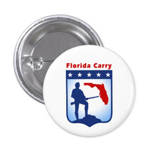 Support for Florida Carry 3 Cm Round Badge