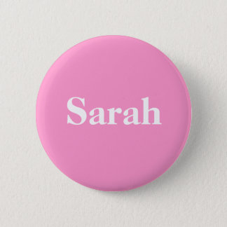 Support for Sarah Palin Simply Stated 6 Cm Round Badge