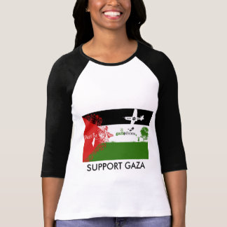 Support GAZA Customized Women Shirt