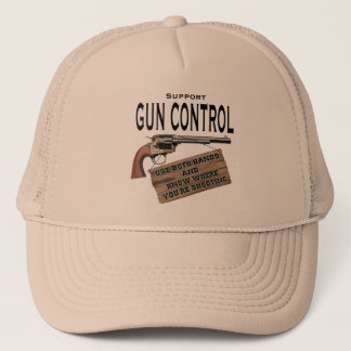 Support Gun Control Hat