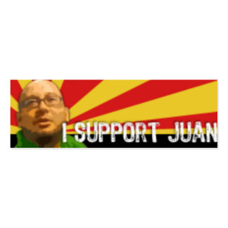 support juan pack of skinny business cards