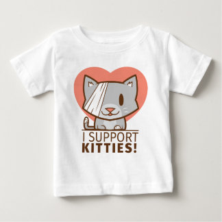Support Kitty Baby T-Shirt