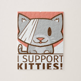 Support Kitty Jigsaw Puzzle
