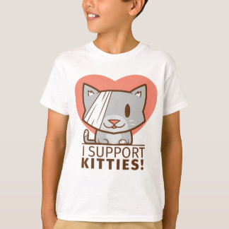 Support Kitty T-Shirt